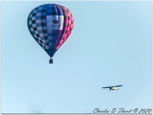 Balloon + Plane =