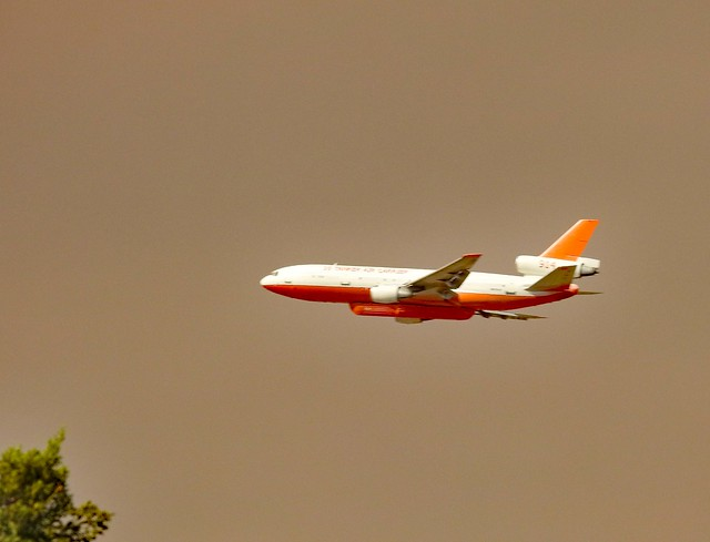 Photo:DC 10 Air Tanker 914 By Sharon in Llano