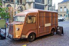 Vintage Beer Truck, Metz, Lorraine, France