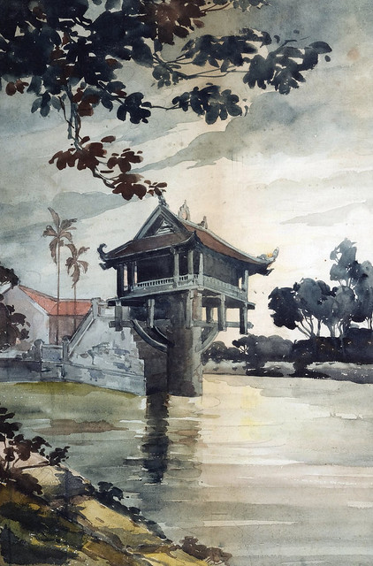 Photo:Le pagode du pilier unique à Hanoï (Môt Côt) By manhhai
