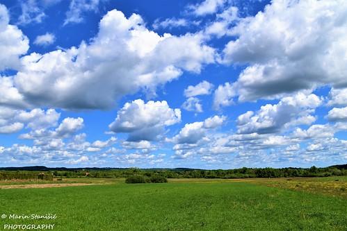 Jaškovo, Croatia - Clouds are coming this way...