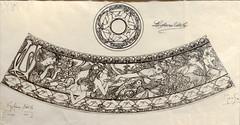 Frise publicitaire d'Alfons Mucha pour LU (Musée d'histoire de Nantes)