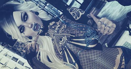 ...:::Death ink:::....Freddy tattoo// ►Poses Mute Store Mundo Virtual 4◄