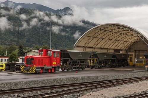 O&K Lok D12 Zillertalbahn. Jenbach