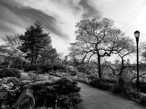Fort Tryon in BnW