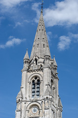Clocher de l'Église Saint-Martial