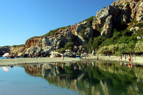 Beautiful Preveli Beach