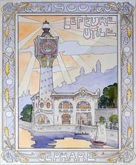 Le pavillon LU pour l'Exposition Universelle de 1900 à Paris (Musée d'histoire de Nantes)