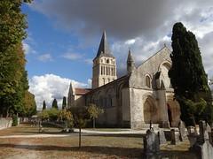 L'église d'Aulnay de Saintonge