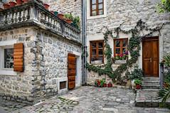 Courtyard in Kotor
