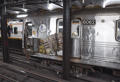 "Derailment of ""A"" Train at 14 St"