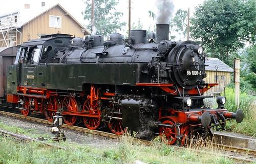 DR 86 1001-6 (ex 86 001; MBK 1928) Bw Aue