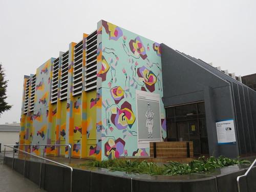 Frances Hodgkins themed mural