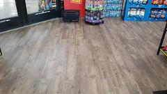 New flooring in main vestibule (O.B. Kroger)