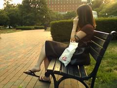 Woman in Lafayette Square