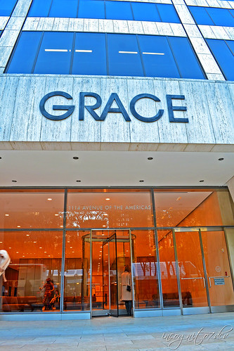 Grace Building Entrance 42nd St 6th Ave Midtown Manhattan New York City NY P00657 DSC_1629