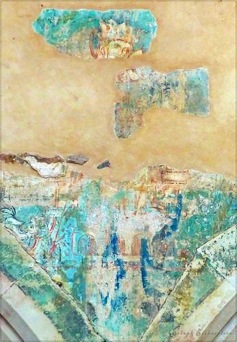 Templerkapelle in Mücheln bei Wettin, Wandmalerei