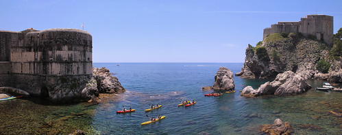 Paddle off gliding along the waters between Dubrovnik's 12th-century walls