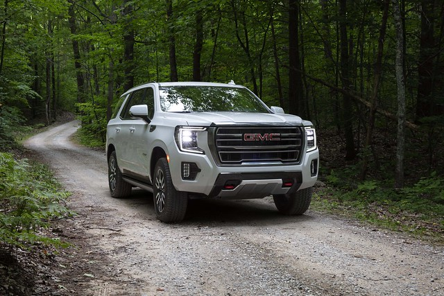 Photo:2021 GMC Yukon 4WD AT4: Stronger, Bolder, and Smarter By Automotive Rhythms