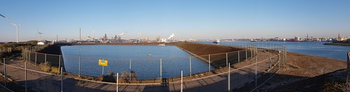 Panorama TataSteel Noordzeekanaal