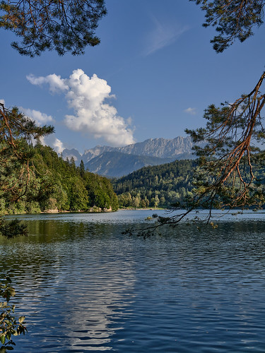Late Summer at Lake Hechtsee in Tyrol, Austria