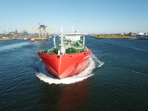 Port of IJmuiden by drone