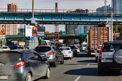 just a traffic jam
