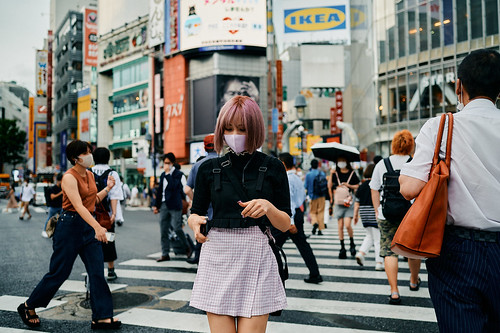 Shibuya Crossing Vibes