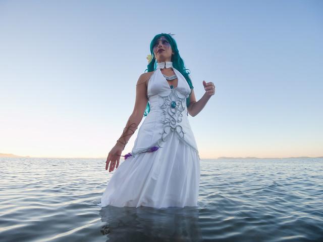 Photo:Shooting Tyrande Whisperwind - World Of Warcraft - Rubis Bleu - Plage Des Salins -2020-08-26- P2266345 By esby.photo