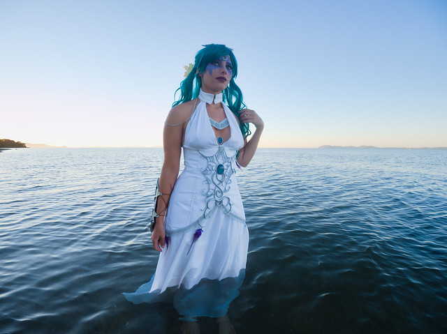 Photo:Shooting Tyrande Whisperwind - World Of Warcraft - Rubis Bleu - Plage Des Salins -2020-08-26- P2266344 By esby.photo