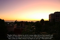 Bradenton, Manatee County, Florida - view from the Courtyard by Marriott