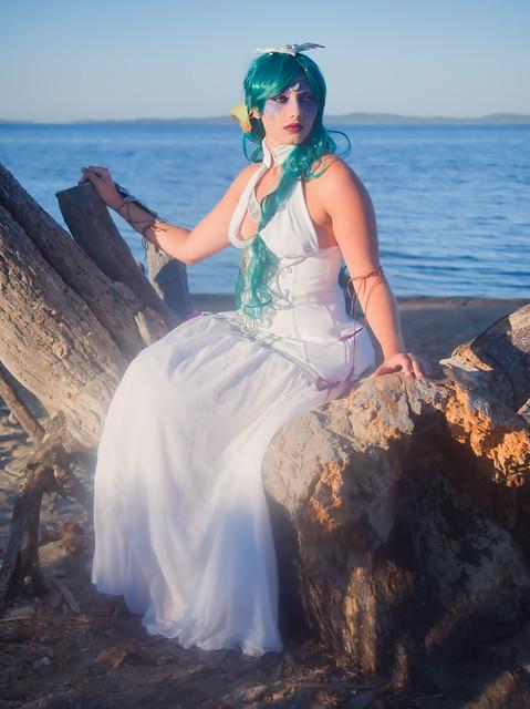Photo:Shooting Tyrande Whisperwind - World Of Warcraft - Rubis Bleu - Plage Des Salins -2020-08-26- P2266423 By esby.photo