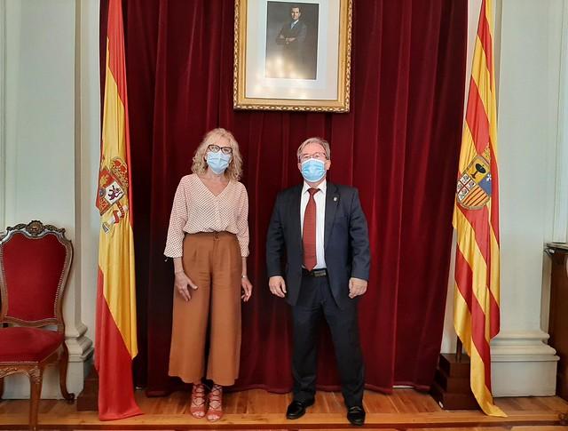 Visita a Subdelegación del Gobierno en Huesca
