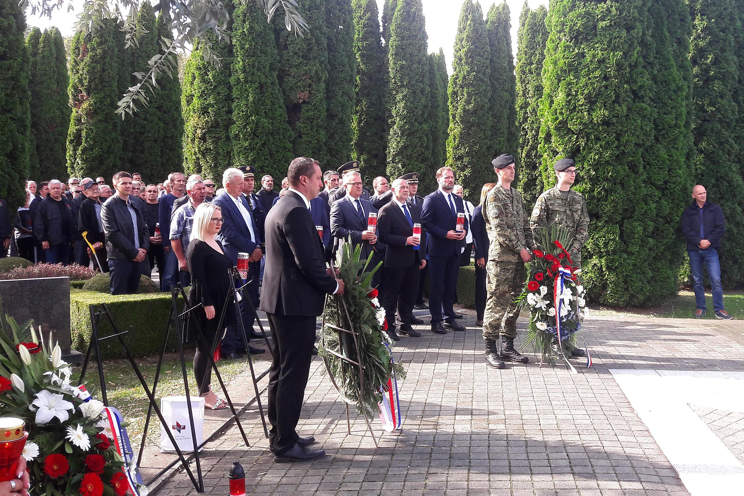 Ministar Banožić na obilježavanju 29. obljetnice osnutka 204. vukovarske brigade