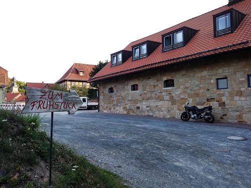 Morgens am Rande von Blankenburg