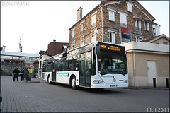 Mercedes-Benz Citaro – Daniel Meyer / STIF (Syndicat des Transports d'Île-de-France) / RATP (Régie Autonome des Transports Parisiens) n°516 - Photo of Étiolles