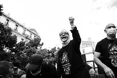 Départ de la marche des sans-papiers - Photo of Marseille