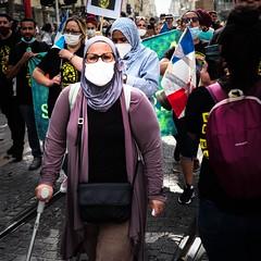 Départ de la marche des sans-papiers