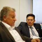 Reunião com Dr. Cascavel, assessor especial do Ministro da Saúde, Eduardo Pazuello - Setembro/2020