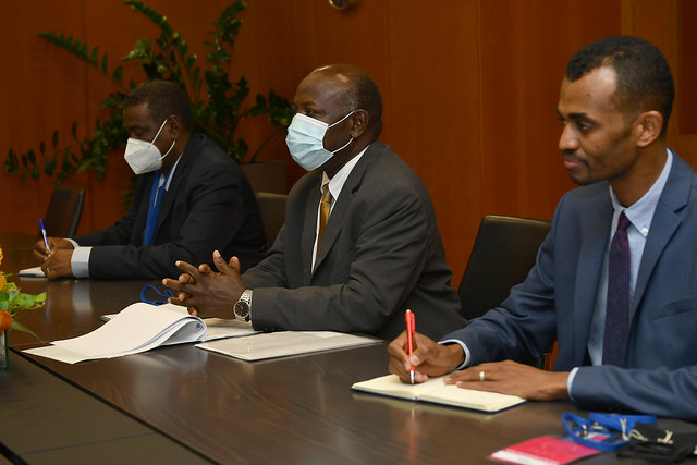 Photo:Bilateral Meeting Sudan (011110136) By IAEA Imagebank