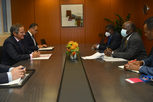 Photo:Bilateral Meeting Sudan (011110137) By IAEA Imagebank