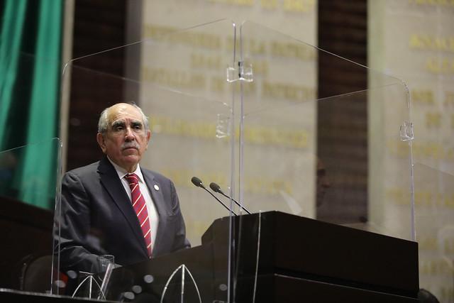 23/09/2020 Tribuna Dip. Pablo Gómez Álvarez