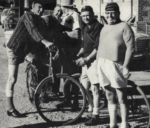 Photo:B Goss on left and Reg Hart on right By Gawler History