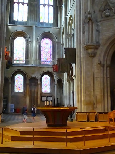 Photo:Ely Cathedral (104) By Gauis Caecilius