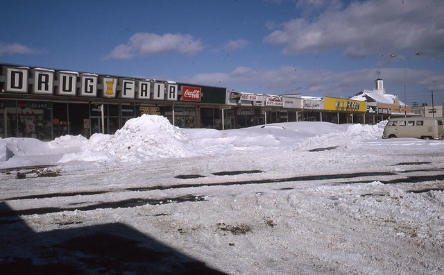 Photo:Baileys Crossroads Shopping Center - Blizzard of January 1966 - Fairfax County Public Library - Virginia Room By varchivesmonth