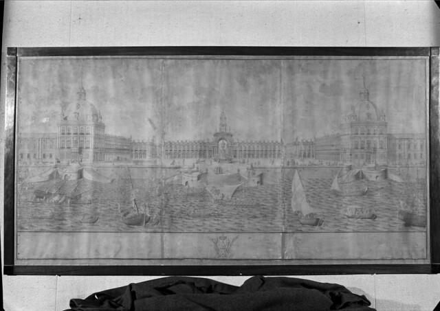 Photo:Exposição iconográfica e bibliográfica comemorativa da reconstrução da cidade depois do terramoto de 1755. Lisboa, Portugal By Biblioteca de Arte-Fundação Calouste Gulbenkian