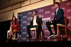 Kimberly Guilfoyle, Donald Trump, Jr. & Charlie Kirk