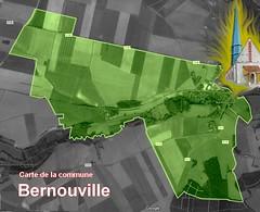 BERNOUVILLE 27660 VEXIN-NORMAND carte