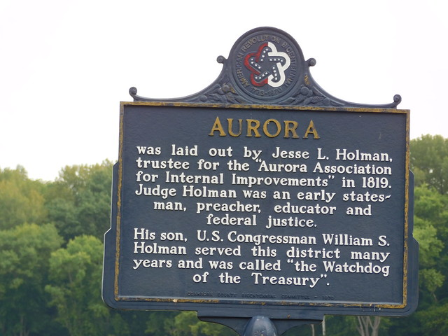 Photo:Aurora Historic Marker By jimmywayne