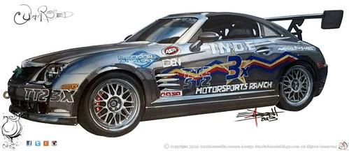 2005 Chrysler Crossfire SRT-6 Drawing